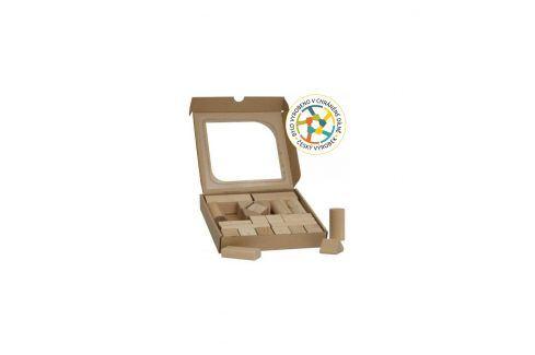 T-wood Dřevěné kostky 25 ks Ostatní stavebnice