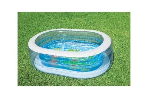 INTEX 57482 ovál s velrybou 163x107x46 cm Dětské bazénky