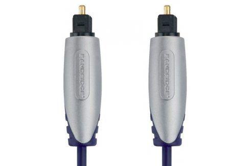 Bandridge Premium, optický, 1m, audio (BSAL5601) Propojovací kabely a redukce