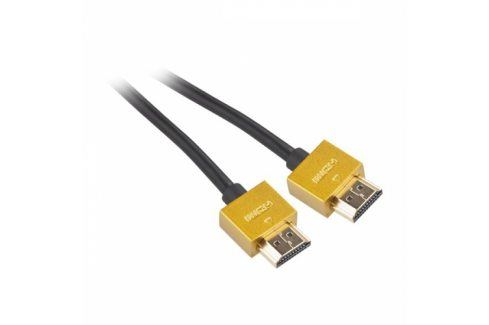 GoGEN HDMI 1.4, 1,5m, pozlacený, High speed, s ethernetem (GOGHDMI150MM03) Propojovací kabely a redukce