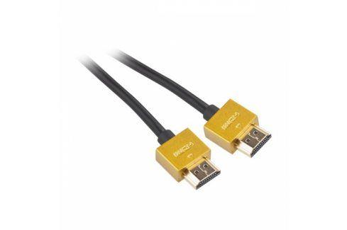 GoGEN HDMI 1.4, 5m, pozlacený, High speed, s ethernetem (GOGHDMI500MM03) Propojovací kabely a redukce