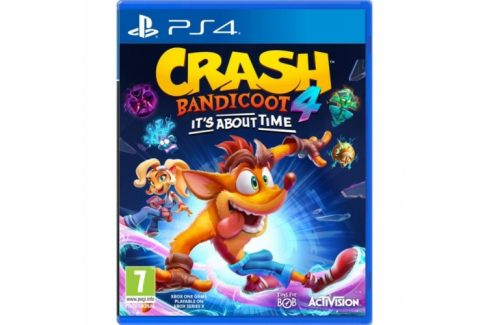 Activision Crash Bandicoot 4: It's About Time (ACP411503) Hry pro Playstation 4