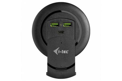 i-tec USB-C. 2x USB QC4, 96 W (CHARGER96WD) USB huby