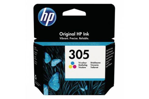 HP 305, 100 stran, CMY (3YM60AE) Inkousty a refillkity
