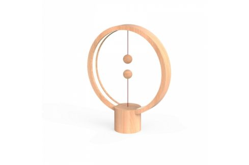 Powercube Heng Balance Round USB - Light Wood (DH0039LW) LED lampičky