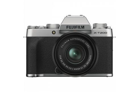 Fujifilm X-T200 + XC15-45 Kompakty s výměnnými objektivy
