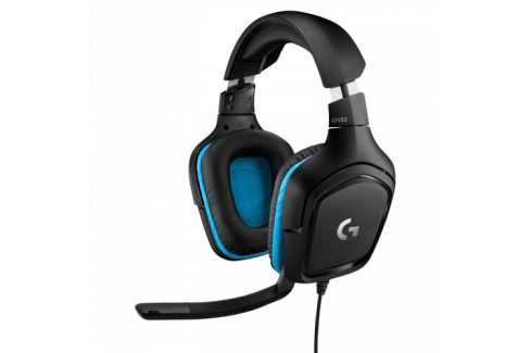 Logitech G432 7.1 Surround Sound (981-000770) Headsety