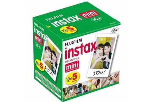 Fujifilm Instax Mini film, 5 x 10ks Pack (70100144162) Ostatní příslušenství