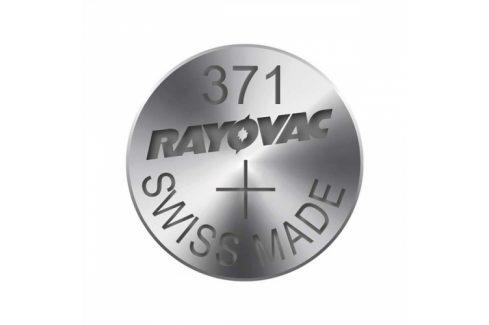 Knoflíková baterie do hodinek RAYOVAC 371, 10ks, pap. krab. Pro hodinky