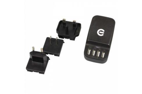 eSTUFF 4 USB (ES80122) Nabíječky pro mobilní telefony - neoriginální