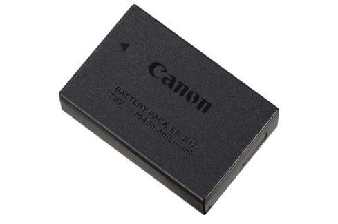 Canon LP-E17 baterie (EOS 200D/750D/760D/800D/77D/M3/M5/M6) (9967B002) Foto - Video baterie - originální