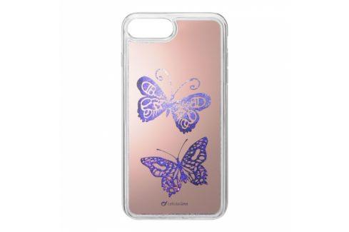 CellularLine Stardust na Apple iPhone 6/7/8 - motiv Motýl (STARDUSTFLYIPH755) Pouzdra na mobilní telefony