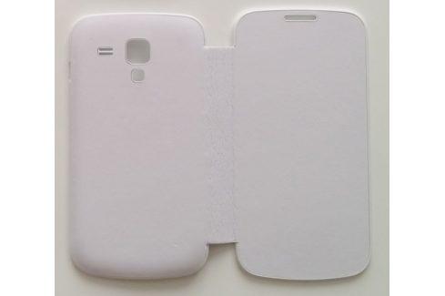 Kožené puzdro typu kniha pre Samsung Galaxy S4 s funkciou S-view, modré+C677 (307541) Pouzdra na mobilní telefony