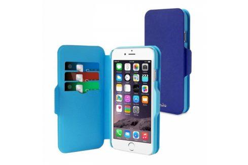 Puro BI-COLOR WALLET na Apple iPhone 6 (P/N: IPC647WALLETBLUE1) Pouzdra na mobilní telefony