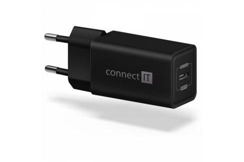 Connect IT 1x USB-C PD, 18W (CWC-2060-BK) Nabíječky pro mobilní telefony - neoriginální