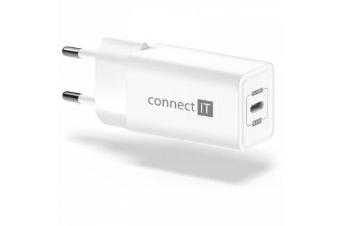 Connect IT 1x USB-C PD, 18W (CWC-2060-WH) Nabíječky pro mobilní telefony - neoriginální
