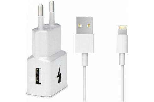 WG 1xUSB, QC 3.0 + Lightning kabel (4791) Nabíječky pro mobilní telefony - neoriginální