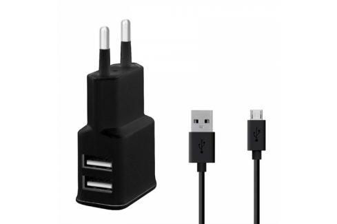 WG 2xUSB,2,4A + Micro USB kabel (4312) Nabíječky pro mobilní telefony - neoriginální