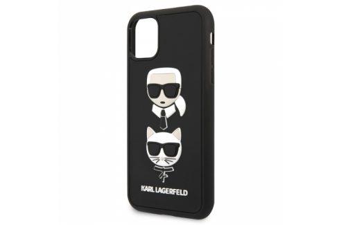 Karl Lagerfeld 3D Rubber Heads na Apple iPhone 11 (KLHCN61IK3DKC) Pouzdra na mobilní telefony