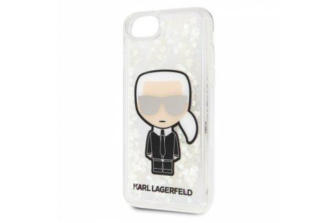 Karl Lagerfeld Glow in The Dark na Apple iPhone 8/SE (2020) (KLHCI8GLGIRKL) Pouzdra na mobilní telefony
