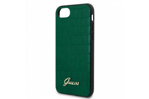 Guess Croco na Apple iPhone 8/SE (2020) (GUHCI8PCUMLCRDG) Pouzdra na mobilní telefony