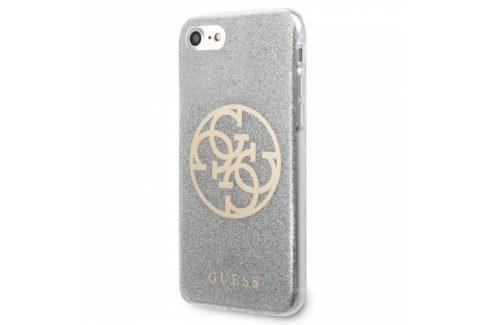 Guess Glitter 4G Circle na Apple iPhone 8/SE (2020) (GUHCI8PCUGLLG) Pouzdra na mobilní telefony