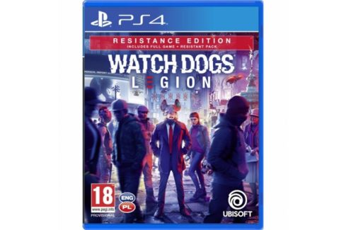 Ubisoft Watch Dogs Legion Resistance Edition (USP484112) Hry pro Playstation 4