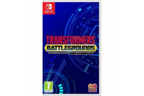 Bandai Namco Games Nintendo SWITCH Transformers: Battlegrounds (5060528033312) Hry pro Nintendo Wii