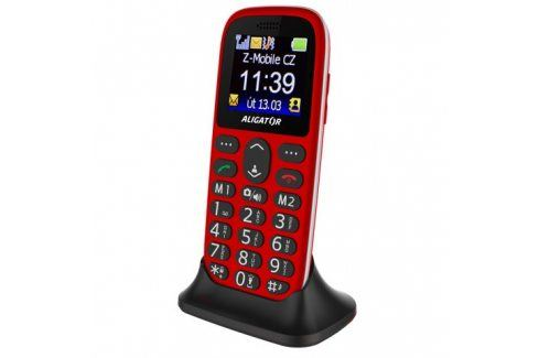 Aligator A510 Senior (A510R) Mobilní telefony