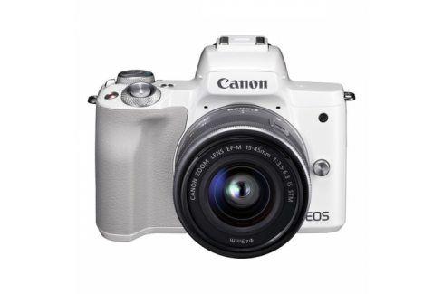 Canon M50 + EF-M15-45 (2681C012) Kompakty s výměnnými objektivy