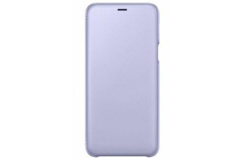 Samsung Wallet Cover pro Galaxy A6+ - levandulová (EF-WA605CVEGWW) Pouzdra na mobilní telefony