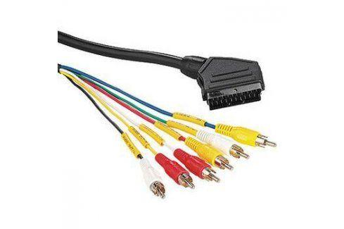 Hama SCART / 6x Cinch, 2m (43187) Propojovací kabely a redukce