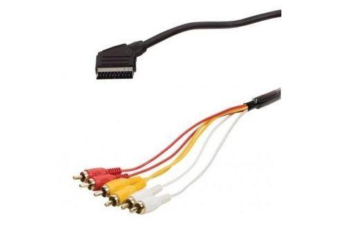 AQ SCART / 6x CINCH, 1,5 m (xaqcv21015) Propojovací kabely a redukce
