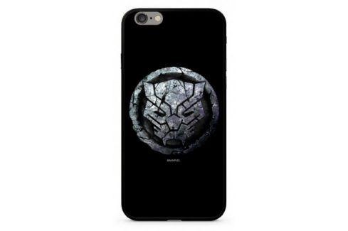 Marvel Premium Glass Black Panther pro Apple iPhone 6/6s (MPCBPANT4501) Pouzdra na mobilní telefony