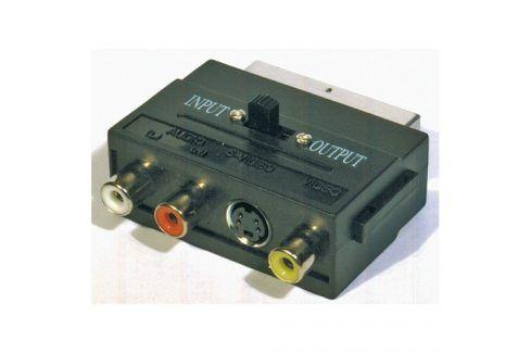EMOS 3x Cinch + S-Video / SCART Propojovací kabely a redukce