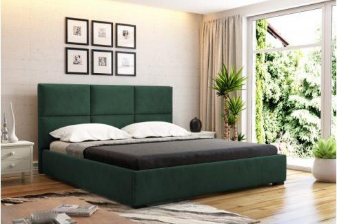 Čalouněná postel Storione 160x200 vč.roštu a úp, bez matrace Postele