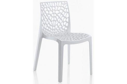 Gruvyer - Jídelní židle (bílá) Židle