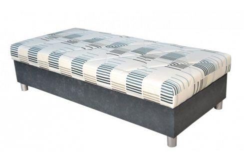 Válenda George 90x200, šedá, vč. matrace a úp Válendy