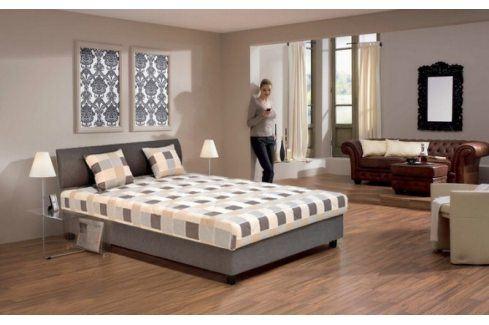 Čalouněná postel George - 140x200 Postele