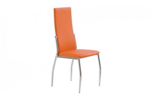 Jídelní židle K3 oranžová Židle