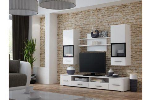 Snow - Obývací stěna (bílá) Obývací stěny