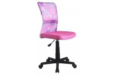 Dingo - dětská židle (růžová) Dětské stoly a židle