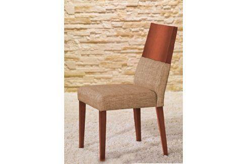 Jídelní židle Timoteo béžová, třešeň Židle