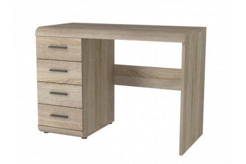 Link - Pracovní stůl (dub sonoma) Dětské stoly a židle