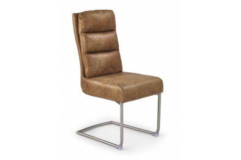 Jídelní židle K207 hnědá Židle
