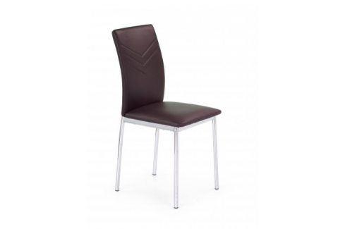 Jídelní židle K137 hnědá Židle