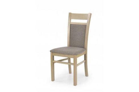 Gerard 2 - Jídelní židle (světle hnědá, dub sonoma) Židle