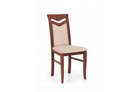 Citrone - Jídelní židle (světle hnědá, třešeň) Židle