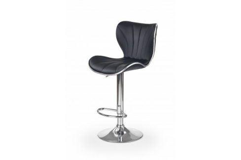 Barová židle H69 (černá/stříbrná) Barové židle