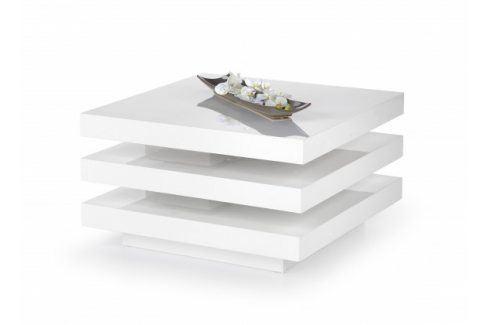 Konferenční stolek Ingrid (bílá) Konferenční stolky